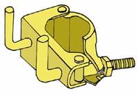防音パネル等の取付け用クランプ